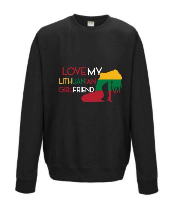 Džemperis: I love my lithuanian girlfriend