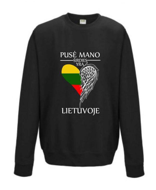 Džemperis: Pusė mano širdies yra Lietuvoje