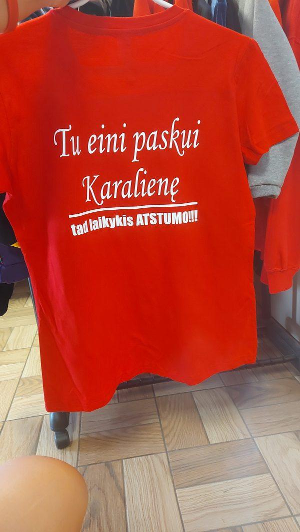 Marškinėliai: Laikykis atstumo