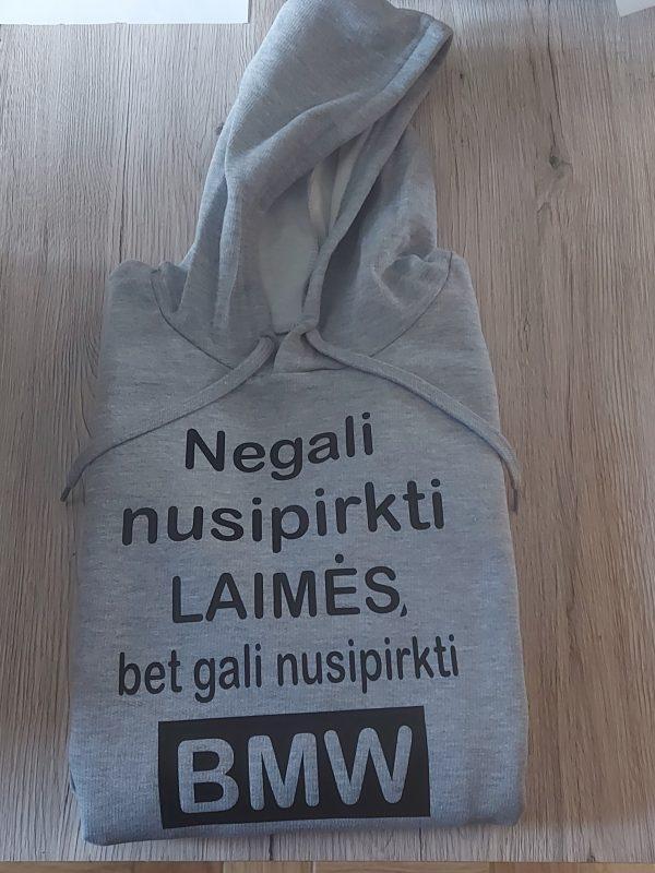 Džemperis: Negali nusipirkti laimės, bet gali nusipirkti bmw20210819_113115